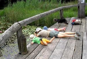 999 excursión con niños al campo